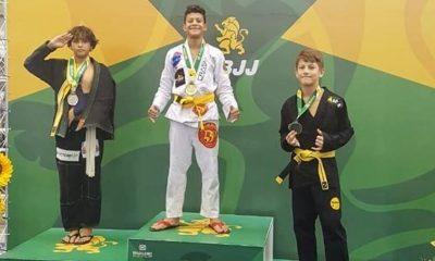 Atleta Mirim de 12 anos e já é tricampeão brasileiro (Foto: Divulgação/ Assessoria de Imprensa)