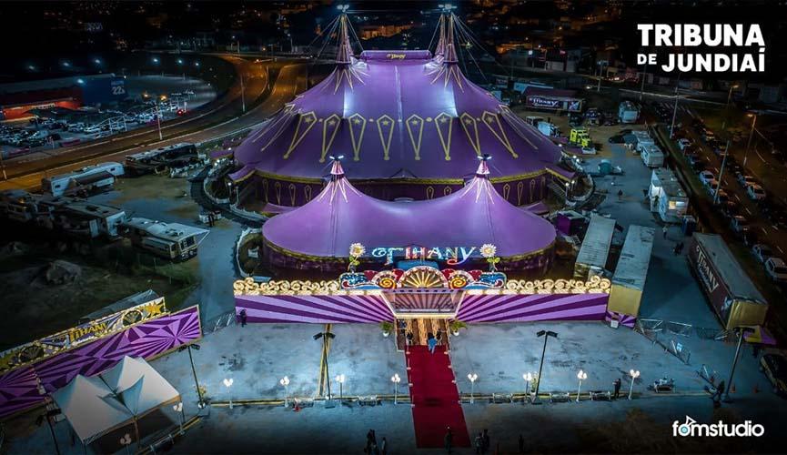 estreia do circo tihany em jundiaí