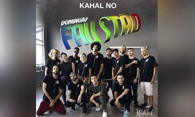 escola de dança kahal no domingão do faustão