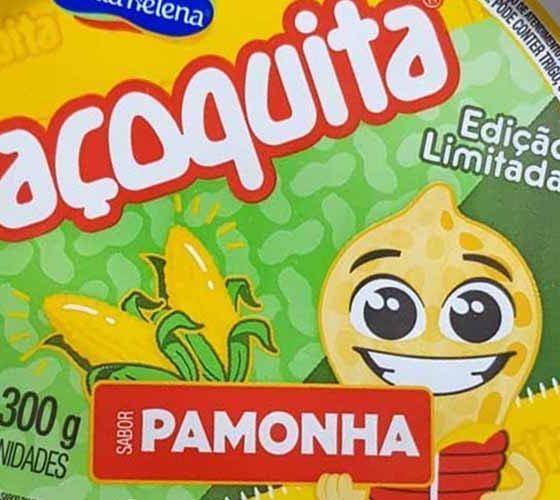 paçoquita de pamonha chega aos mercados '