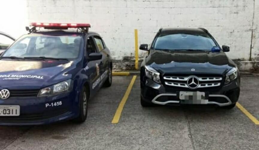 Veículo furtado em Goiânia é achado em Jundiaí