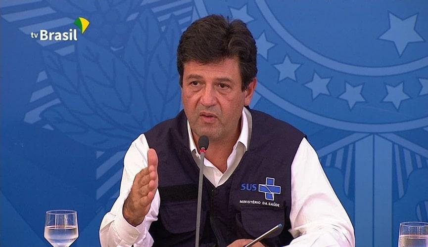 Henrique Mandetta, ministro da Saúde