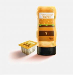 Imagem promocional dos molhos especiais do McDonald's